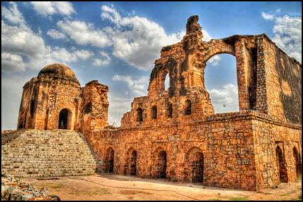 Feroz_Shah_Kotla or 'Ferozabad_Fort'