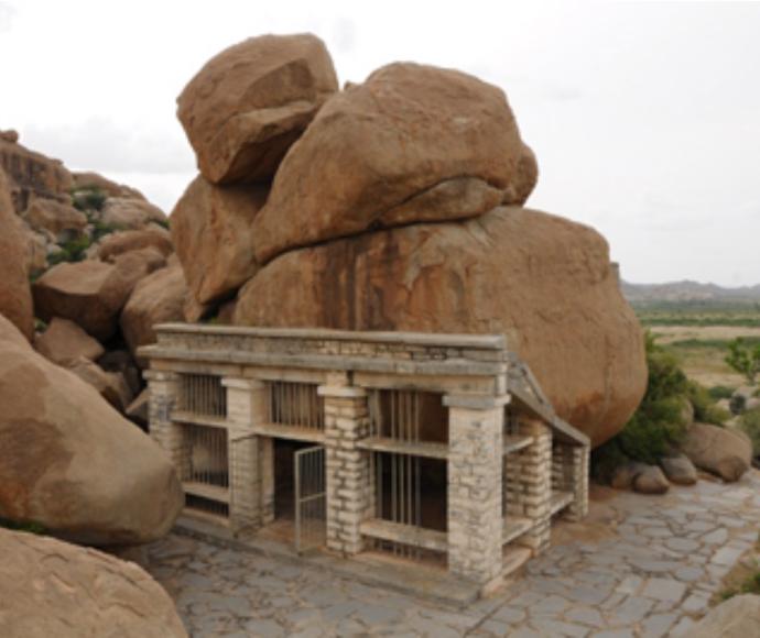 Akkatangi Temple and Asokan Inscription Emmethammanagundu